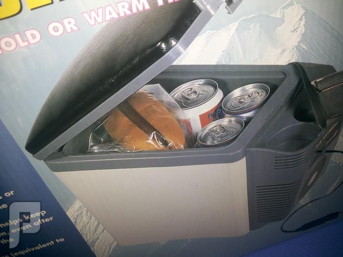 ثلاجة السيارة ابو تكاية 6 لتر يعمل من ولاعة السيارة للاعمال الشاقة ابو تكاية 32 طول عرض 18 ارتفاع 25 ب