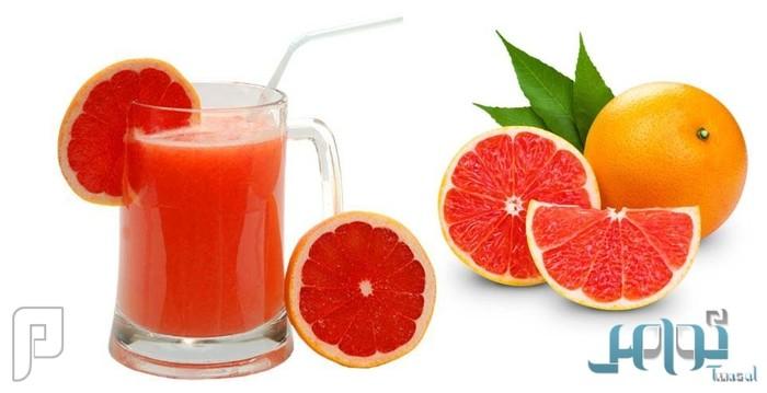 دراسة: كوب عصير «جريب فروت» يومياً يحمي من أمراض القلب