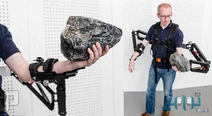 بالصور.. جهاز يساعد البشر على حمل الأوزان الثقيلة بسهولة