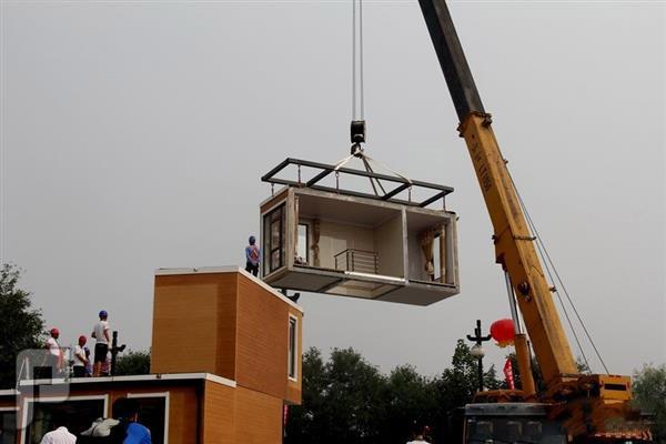 تقنية صينية تتيح بناء المنازل في ثلاث ساعات بالصور