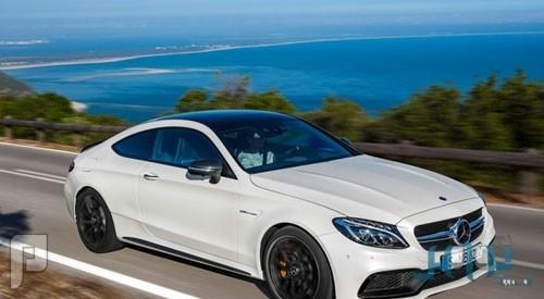 مرسيدس بنز تكشف النقاب عن سيارتها الكوبيه«C63 AMG»