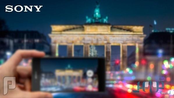 هاتف ذكي من سوني مع كاميرا عالية التركيز