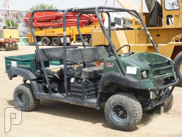 IT# 767-2011 KAWASAKI 4010 Mule 4x4 Utility Vehicl
