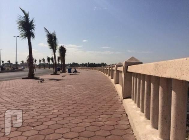 امطار مع برد على كورنيش أبحر في جدة كورنيش ابحر