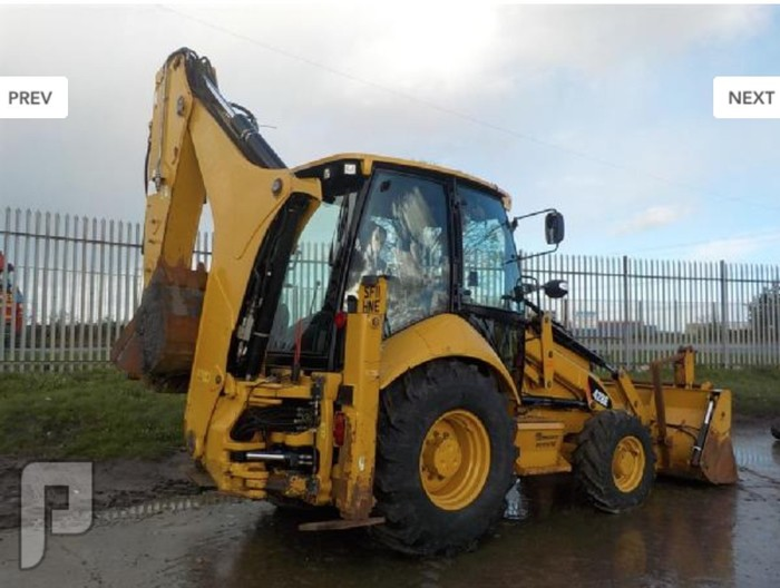 IT# 872-2011 CAT 428E Turbo Backhoe Loader