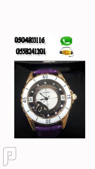 ساعة ماركة شانيل تصلح للرجال والنساء