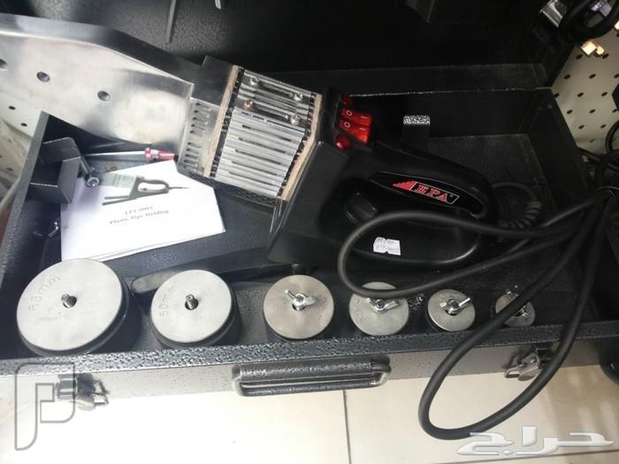 مكينة تلحيم المواصير الماء البلاستكية من بوصة الى2 بوصة المكينة حرارية مكينة تلحيم المواصير الماء البلاستكية من بوصة الى2 بوصة المكينة حرارية