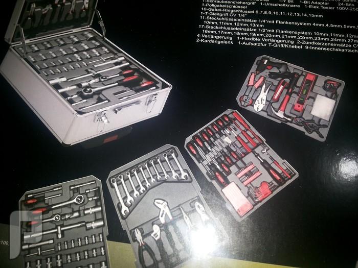 طقم شنطة عدة 186 قطعة متنقل في حقيبة نوعية ممتازة للورش والسيارات الماني طقم شنطة عدة 186 قطعة متنقل في حقيبة نوعية ممتازة للورش والسيارات الماني