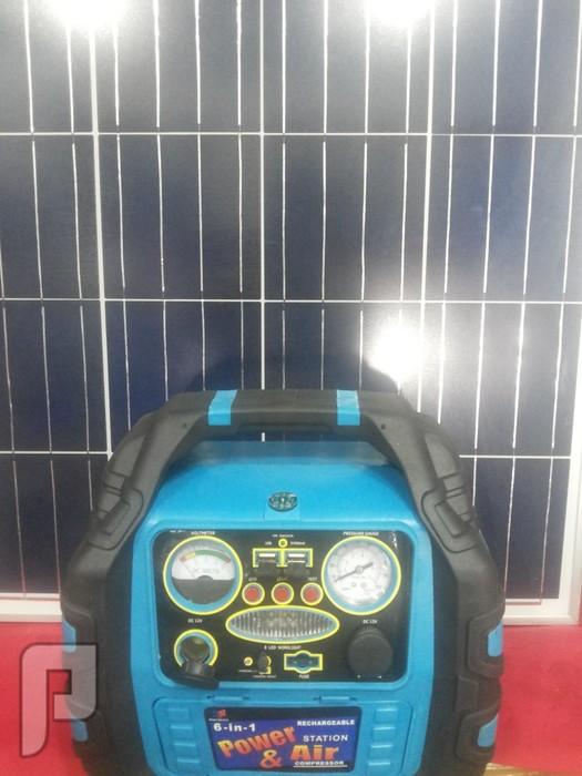 الطاقة المتنقل المجاني لاهل البر والكشتات على قوة 200 واط يشغل الاجهزة والل مخزن الطاقه وملولد للكهرباء 220