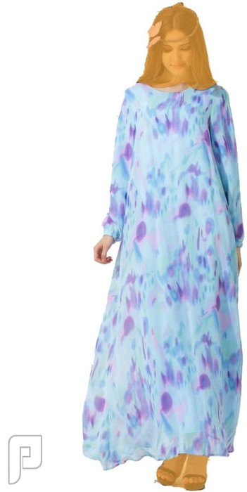 فساتين نسائية طويلة محتشمة بأنواع مختلفة فستان نسائى طويل واسع ومحتشم السعر 245 رقم(1)