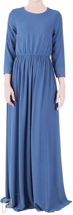 فساتين نسائية طويلة محتشمة بأنواع مختلفة فستان نسائى طويل السعر 250 رقم (7)