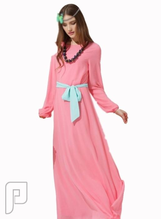 فساتين نسائية طويلة بأنواع مختلفة فستان نسائى طويل السعر 259 رقم (2)