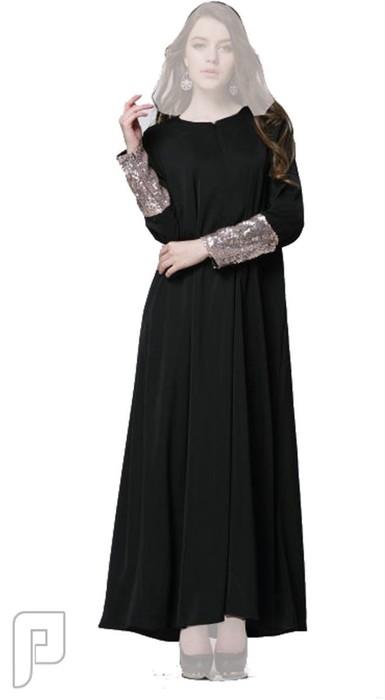 فساتين نسائية طويلة بأنواع مختلفة فستان نسائى طويل محتشم السعر 279 رقم (4)