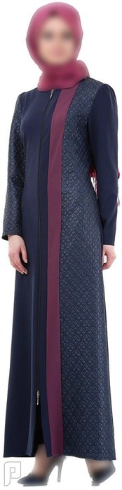 ملابس نسائية تركية الأعلان الأول ثوب نسائي عريض أزرق اللون قماش فيسكوز مقاس 40 (رقم 1) السعر : 475 ريال