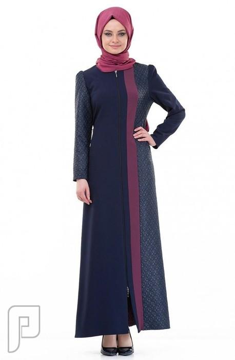 34484c3a0 ملابس نسائية تركية الأعلان الأول ثوب نسائي عريض أزرق اللون قماش فيسكوز مقاس  40 (رقم