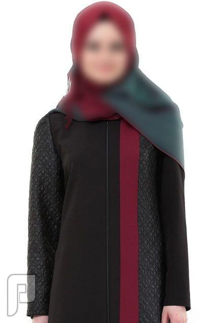 2f04f3337 ملابس نسائية تركية الأعلان الأول ثوب نسائي أسود اللون بنقش جانبي مصنع من  قماش الفيسكوز مقاس