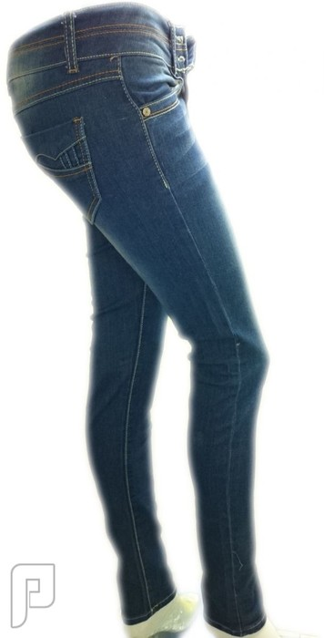 بناطيل جينز نسائية الأعلان الرابع بنطلون جينز نسائي ذو لون أزرق ومقاس EU 28 رقم (1) السعر 149