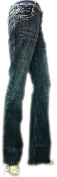 بناطيل جينز نسائية الأعلان الرابع بنطلون جينز نسائي ذات مقاس EU 30 ماركة AOFENG رقم (3) السعر 199