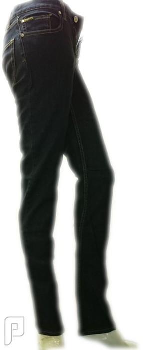 بناطيل جينز نسائية الأعلان الرابع بنطلون جينز نسائي ذو لون أزرق داكن ماركة EMERICA ومقاس لارج رقم (6) السعر 199