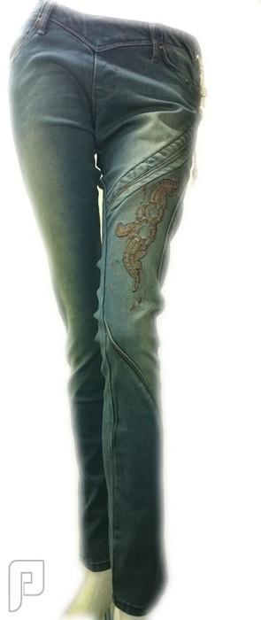 بناطيل جينز نسائية صناعة تركية وموديلات اخر صيحة بنطلون جينز نسائي صناعة تركي ماركة PAYVARJAM رقم (2) السعر 249