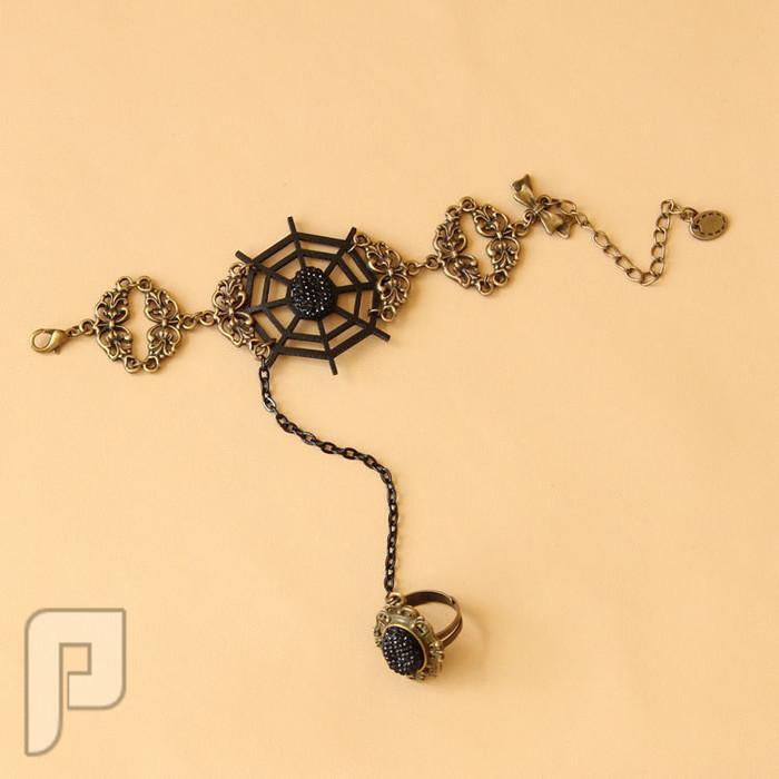 مجوهرات نسائية مميزة الإعلان الثالث موديل 194 مجوهرات ==== أسورة مع خاتم كأجمل اكسسوار نسائي = السعر 60 ريال