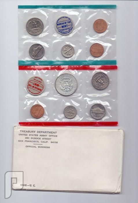 مجموعه المنت الامريكية سنة 1968