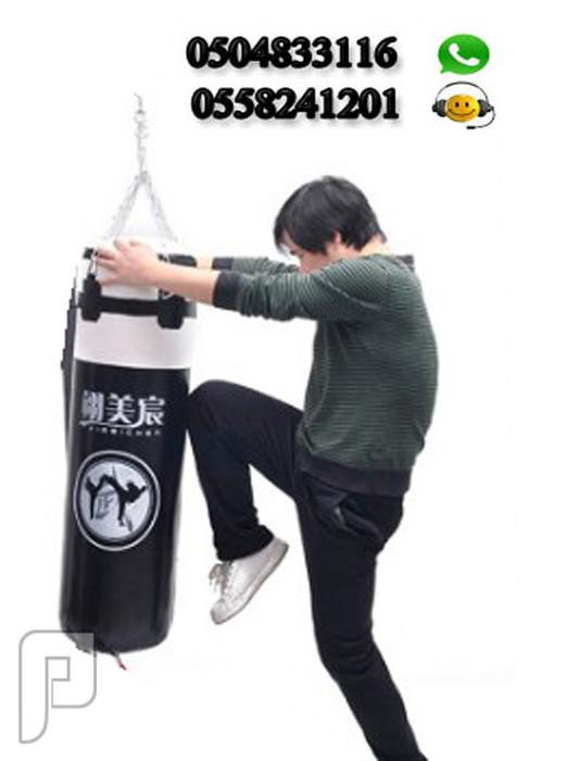 كيس ملاكمة معلق ذو حجم صغير يصلح للأطفال والشباب