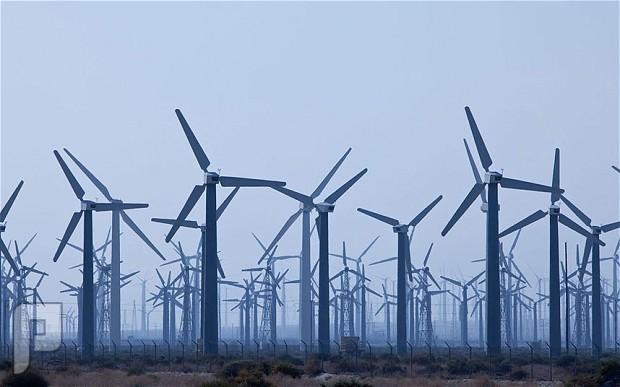 طاقة الرياح ليست ذات كفائه عاليه