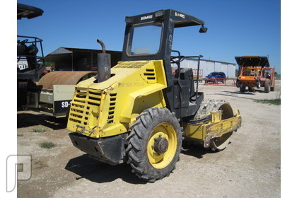 IT# 334-2004 BOMAG BW124PDH PADFOOT COMPACTOR