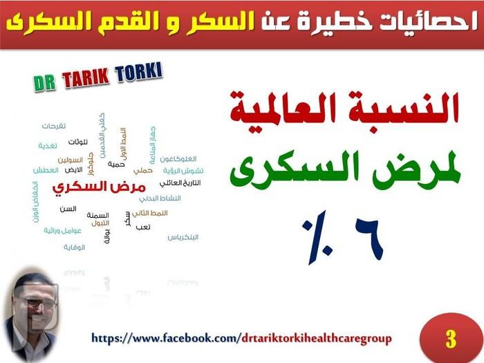 خطورة مرض السكر والقدم السكرى بالارقام | دكتور طارق تركى