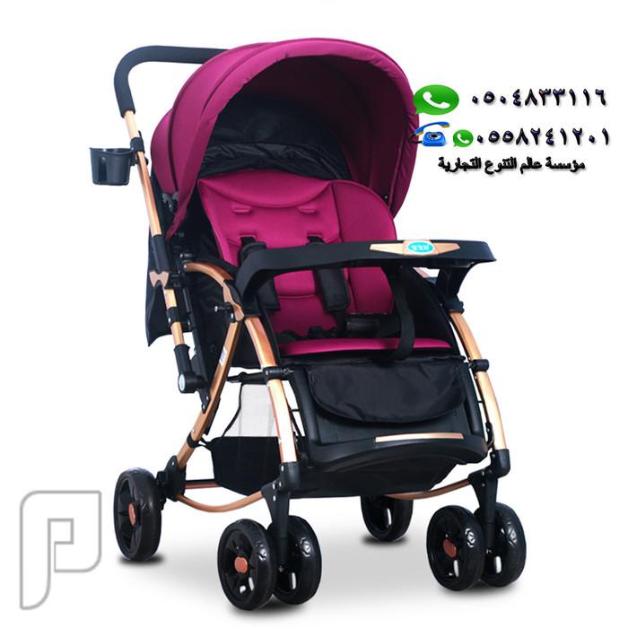 عربة أطفال 3 في 1 , بأربع عجلات ماركة VOV العالمية