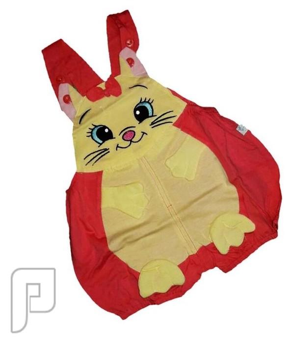 ملابس تنكرية بأشكال جميله محببه للأطفال من 3-6 شهور ملابس اطفال على شكل قطه السعر 60 ريال