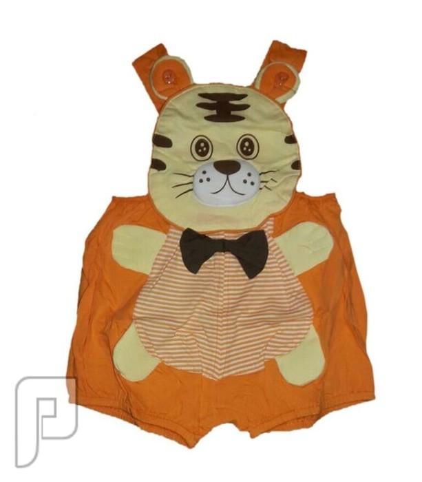ملابس تنكرية بأشكال جميله محببه للأطفال من 3-6 شهور ملابس اطفال على شكل فهد السعر 60 ريال