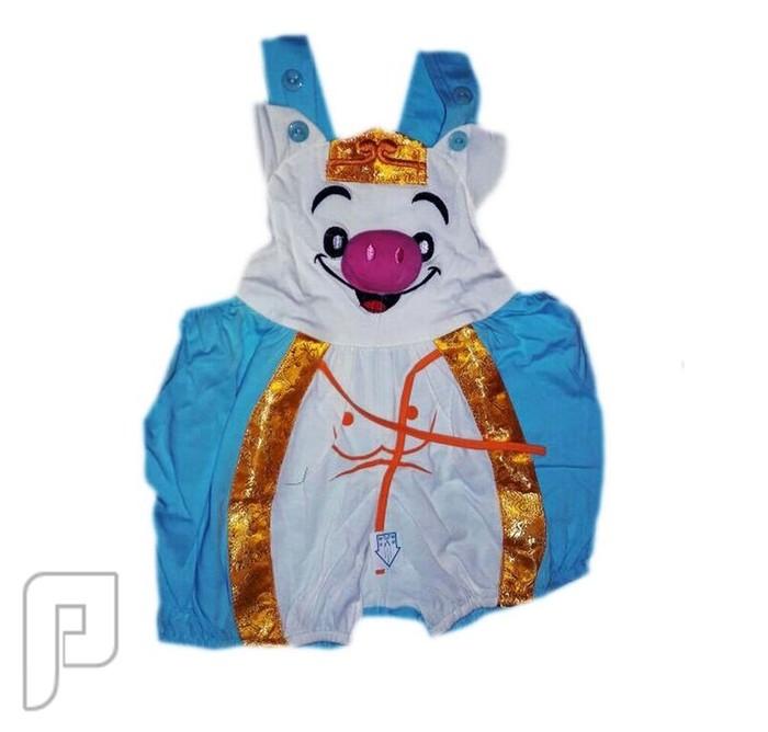 ملابس تنكرية بأشكال جميله محببه للأطفال من 3-6 شهور ملابس اطفال على شكل فيل السعر 60 ريال