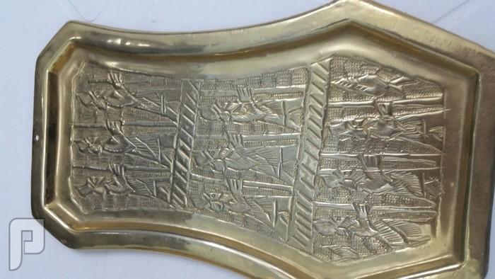 سماور قديم مطلي بالذهب