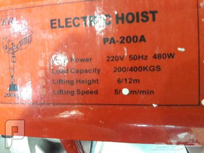 ونشات كهربائيه مختلفة الاحجام 220 كهرباء ريمونت كترول ونش كهربائيكيلوقوة الرفع ريمونت 220 كهرباء ب