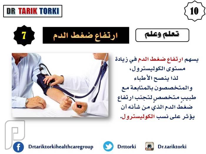 10 أسباب تؤدي الى ارتفاع الكوليسترول | دكتور طارق تركى
