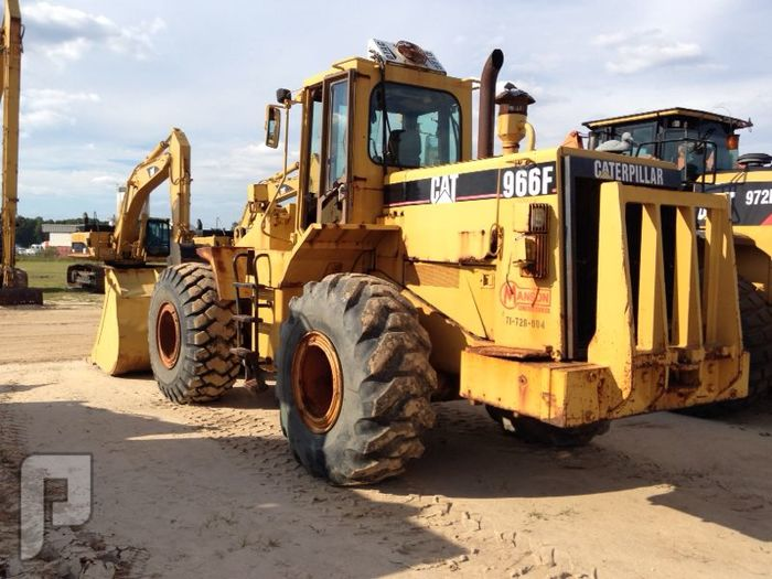 شيول كاتربلر IT# 602-1995 Cat 966F Rubber Tired Loader