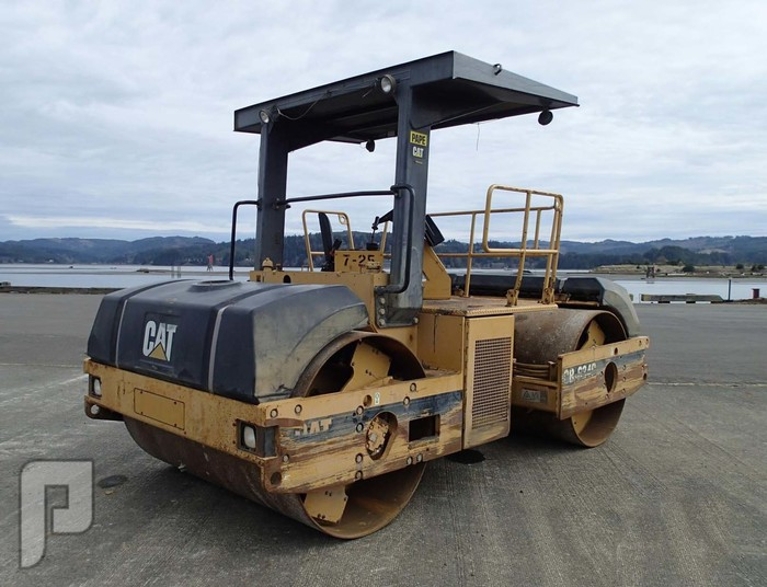 رصاصات اسفلت IT# 38-1997 CATERPILLAR CB634C Tandem Vibratory Roller