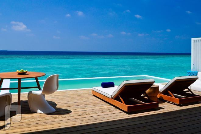 منتجع أميلا فوشي فى جزر  المالديف السحر والجمال والطبيعية الساحرة