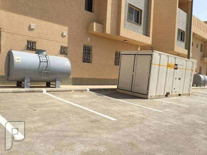 خزان ديزل احتياطي للمولدات الكهربائية