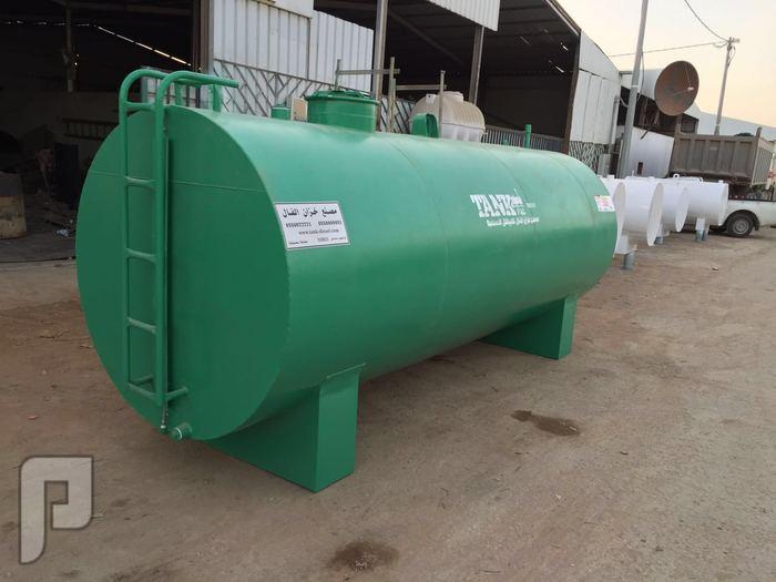تصنيع جميع انواع الخزانات الحديدية الثابتة والمتنقلة والمدفونة
