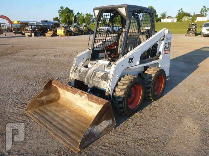 شيول بوب كات S130 للبيع IT# 51-2012 BOBCAT S130 SKID STEER LOADER