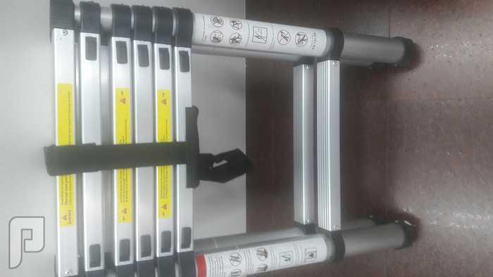 سلم 5 درجات المنيوم 2 متر الارتفاع خفيف الوزن عملي جدا