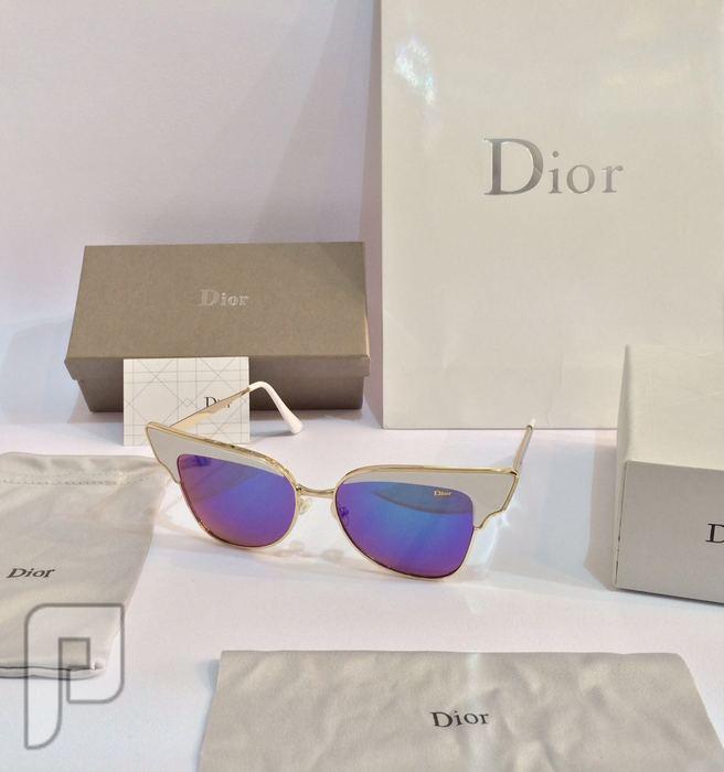 نظارات شمسيه ماركة ديور 1