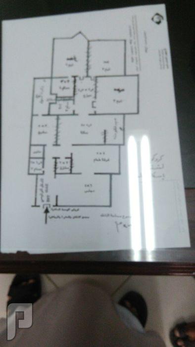 شقة في إسكان المعذر بمدينة الرياض للبيع كروكي الشقة وتاصيلها الداخلية