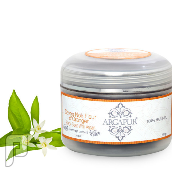 صابون البلدي المغربي طبيعي 100% صابون بلدي بخلاصة زهرة البرتقال