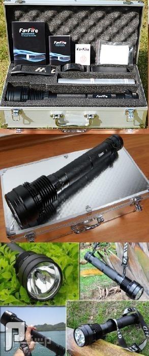 الكشاف اليدوي الخارق زنون HID بقوة 8900 لومن الأقوى من فينيكس 1170ريال حقيبة المونيوم خاصة بالكشاف.