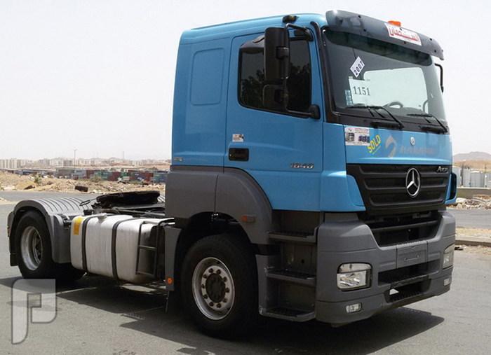 شاحنه مرسيدس ( اكسور ) موديل 2007 حجم 1840