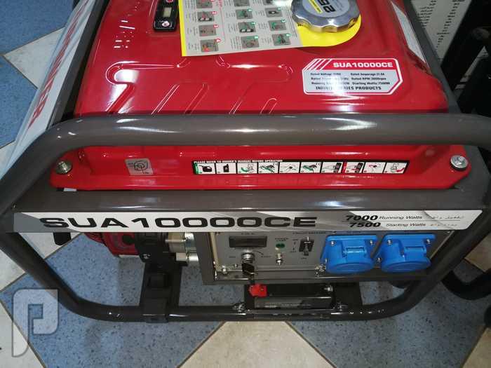 مولد كهرباء بنزين 10 كيلو صافي 7 كيلو نص 7 كيلو نص صافي سوتش هندل يشغل مكيف 18 اسبلت واللمبات واجهزه فقط